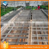 New Premium Galvanized Wire Mesh Greenhouse Rolling Benches                                                                         Quality Choice