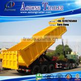 competitive china new 2/3 axles tipper trailer /self dumping/dump/dumper truck semi trailer for sale