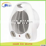 solar powered portable heater fan heater solar solar powered room heater2000W electric fan heater with Anti-fire plastic body                                                                         Quality Choice