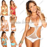 YunwenY 2016 Sexy Bikini Crochet Women Swimwear Bathing Suit Bikini Set                                                                         Quality Choice