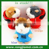 DJ talking hamster toy for children gift ,voice recording hamster,repeat hamster                                                                         Quality Choice