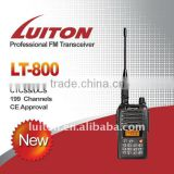 Two Way Radio with CE approval, LT-800 with ham radio antenna