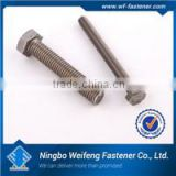 High quality fasteners titanium hex flange head bolt,cheap price manufacturers,suppliers,exporters