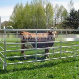 32mm steel tube horse panels, galvanized pipe horse fencing panel,