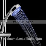 China factory supply fashionable lighting automatic temperature control ABS material LED shower