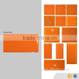 orange 75x150 brick look wall tiles, art glossy indoor glazed ceramic tile                                                                         Quality Choice