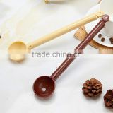 Ice Cream Tea Coffee Handled Long Handle Spoons plastic spoon Tableware Flatware