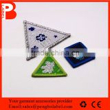 free sample non woven fabric manufacturer self adhesive fabric woven patch
