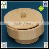INQUIRY ABOUT Nice Wooden Round Boxes With Lids Wholesale