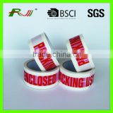 Clear packing BOPP adhesive Tape with printed logo                                                                         Quality Choice