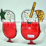 Cheap Plastic Drinking Cup Shaped Party Novelty Sunglasses,Drink Cup Party Glasses Crazy Selling Super Sunglasse