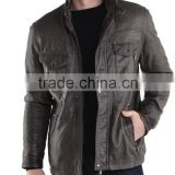 High Qulaity Black Adult Boys Leather Jacket
