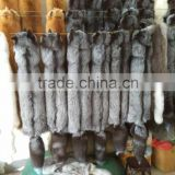 INQUIRY ABOUT New Style Real Long Fox Fur Scarf / Dyed Fox Fur Scarf