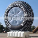 Inflatable Giant Advertising Tire Display /Inflatable Ourdoor Air Balloon Tire for Adverting                                                                         Quality Choice