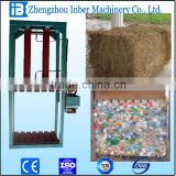Hydraulic vertical double doors opening baler for cartons,pet bottles, papers, cotton, straw