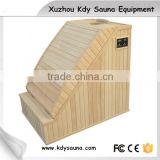 1 people cheapest sauna room, far infrared corner sauna room ourdoor sauna room