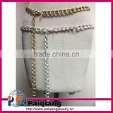 Best selling fashion accessory ladies metal chain belt