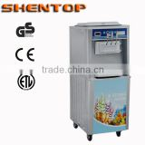 Shentop industrial Stainless Steel high quality ice cream maker BQJ-20/2A Hot Selling Commercial Soft Ice Cream Machine