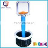 plastic inflatable ice bucket / air drink ice cooler with stand