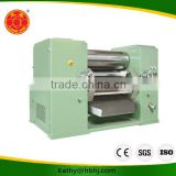 Best price lubricant grease making machine three roll mill