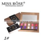 2016 Newest product professional Miss Rose make up eye shadow palette,Shining eye shadow