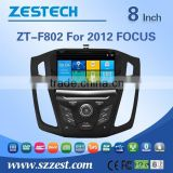 car dvd gps navigation system for ford focus 2012 with Rear View Camera GPS BT TV Radio RDS