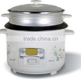 national non stck inner pot cylinder rice cooker with stainless steel lid