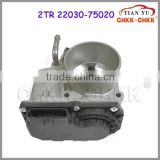 Hot Selling Electronic Throttle Body Oem#22030-75020 Universal tThrottle Body For Toyota
