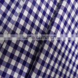 Wholesale japanese plain white grid printed cotton fabric 100 cotton fabric prices For Sheet Set/Bed Linen