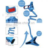 Mobile phone holder flexible phone holder phone clip cellphone holder with big clamp of 120mm