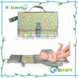 Contoured Travel Infant Baby Diaper Portable Changing Pad Mat for mom