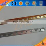 Hot! Direct factory price aluminum corner guard/ OEM aluminum edging/ Kinds of surface aluminum straight edge