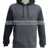 Bottom price promotional women black casual cotton hoodies
