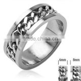 2SHE Top Sale High Quality Stainless Steel Spinner Rings