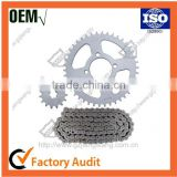 Material 1024 stainless steel Sprocket for Motorcycle Chain Sprocket