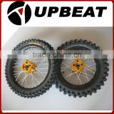CNC hub wheel/pit bike wheel/kenda tire/dirt bike wheel