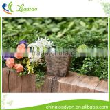 Hot sale china factory tree bark metal flower pot indoor tree bark indoor square planter