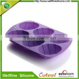 Egg Silicone Cake Baking Mold Cake Pan Muffin Cups Handmade Soap Moulds Biscuit Chocolate Ice Cube Tray DIY Mold