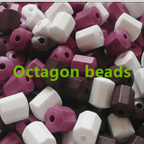 Will pin with germanium stone beads all kinds of germanium stone particles pumpkin bead bead eight prism earth refill
