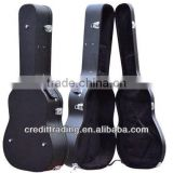 Hard Case leather guitar bag