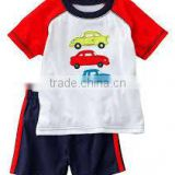 2016 cotton baby clothing set Boys Suits T-shirts Pants Sets Shorts Pajamas Short Sleeve Set