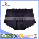 Top Selling Breathable Young Lady Polyester Hot Pants Underwear