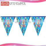 paper Party Flags,Christmas Flags,Bunting Flags For Decoration custom logo promotion teardrop flag