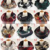 wholesale knitted infinity scarf and shawls winter neck warmer neckerchief
