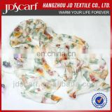 silk chiffon scarf JDS-045# excellent scarves super thin 100% silk chiffon scarf
