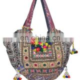 Banjara Bags Vintage Hobo Sling Tote Ethnic Tribal Gypsy Handmade Indian Hippie Hobo Coins Cowrie Women Sac Purse Tote Hand