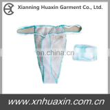 Disposable non-woven G-string/T-back