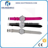 2016 newest sublimation blank printing watches