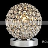 cute new design crystal table lamp