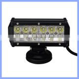 36W 12 LED Off Road Work Light Bar SUV Sedan Auto Head Lamp